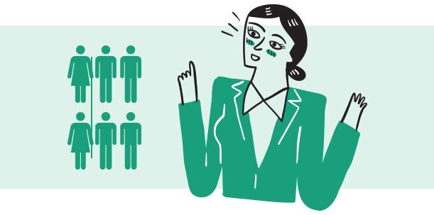 Cuota de mujeres en los programas de emprendimiento del Estado